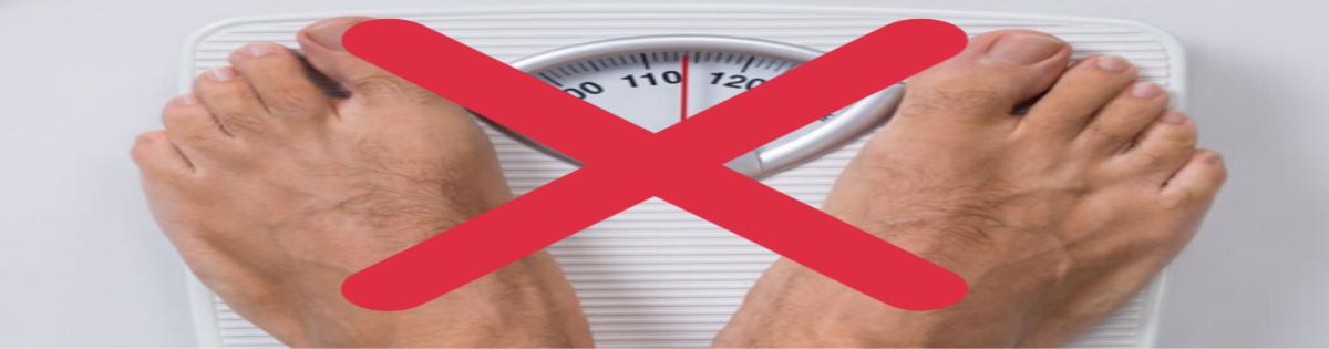 pérdida de peso, no báscula